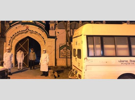 Faridkot: 14 persons of  Nizamuddin Tablighi Jamaat event participant quarantined, sample