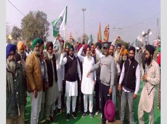 Chakka Jam: Protesters block traffic in Ferozepur