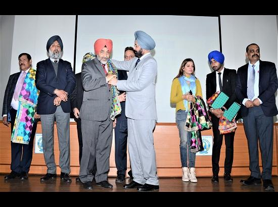 GNDU honours MRSPTU registrar professor Jasbir Singh Hundal with award of appreciation for contribution in field of Academic Administration
