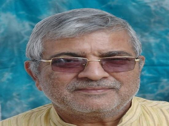 Nawan Punjab Party declares Dr Dharamvira Gandhi as its candidate from Patiala