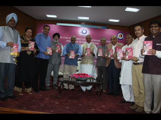 Governor Badnore releases book on Modi government's 3 years