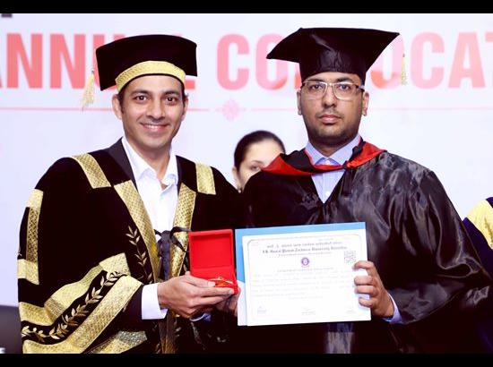1,945 students conferred degrees during 13th Annual Convocation of CGC Landran