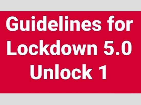 Lockdown 5.0/Unlock 1 – Have a look at the colourful versions of guidelines issued by Pu