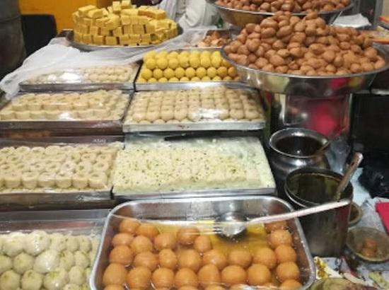 Halwai shops in Punjab can stay open on August 2 on account of Raksha Bandhan