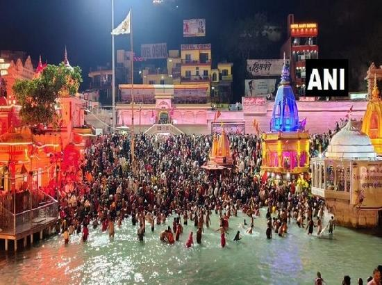 6 lakh people arrived in Haridwar for Baisakhi snan, says Kumbh Mela IG