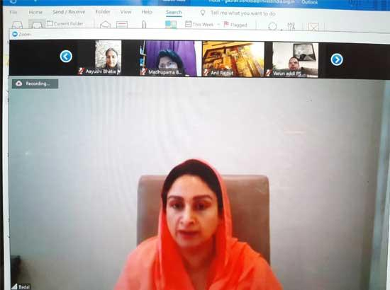 Empowered Committee on logistics and supply chain set up: Harsimrat Badal