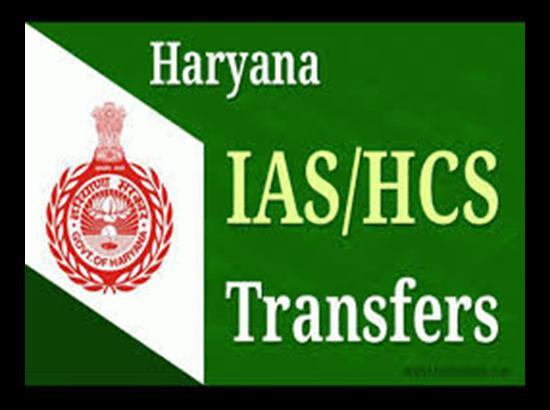 12 Haryana IAS Officers Transferred