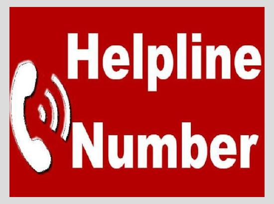 Special COVID Helpline number for advice on Medical, Stress & Anxiety related issues laun