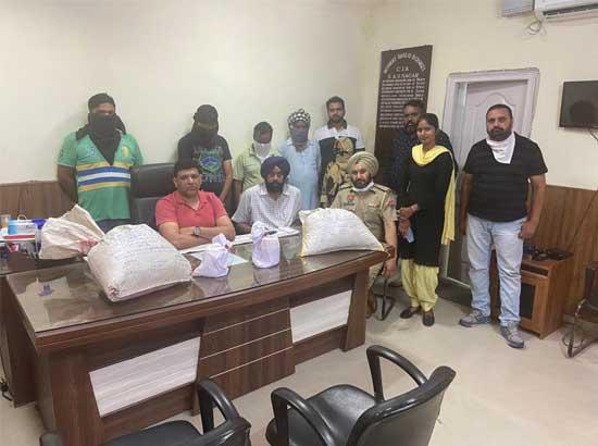 Heroin worth Rs. 5 crore seized