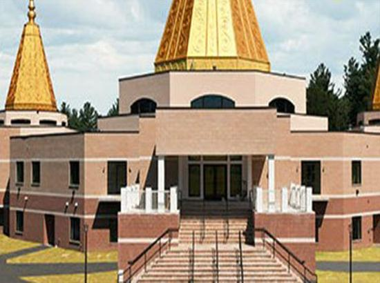 Hindu temple with capacity of 7,800 people opens in Massachusetts