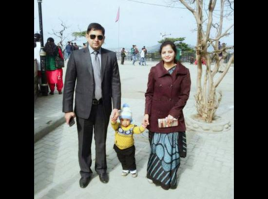 Image result for A muslim IAs IPS couple will look after  subedar naib's younger daughter