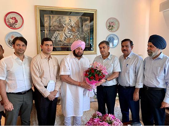 Punjab IAS officers donate for families of Phulwama victims , handover cheque to CM
