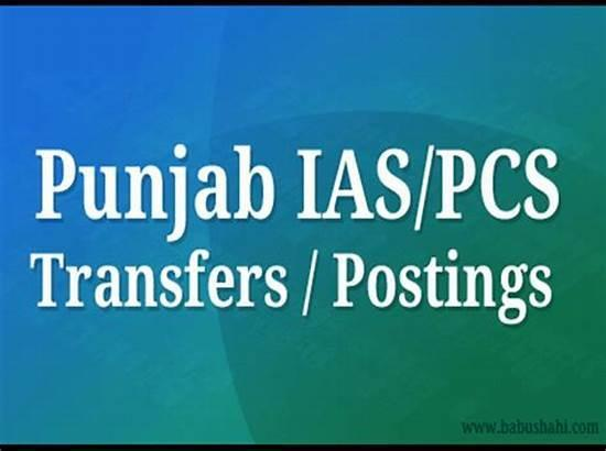 Two PCS officers transferred