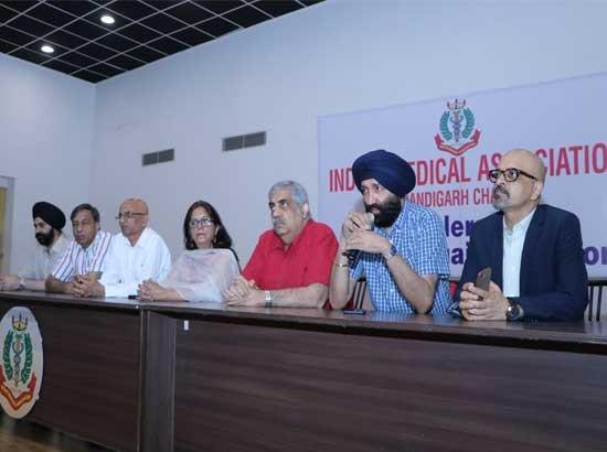 IMA Chandigarh seeks law for prevention of violence against doctors; expresses need for police hotline