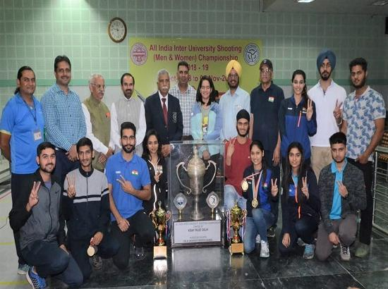 Panjab University claim overall trophy in Inter-Varsity shooting championship