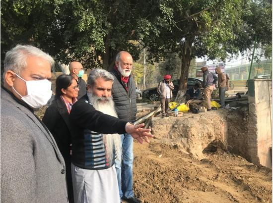 Widening work of Sidhwan Canal bridge to be completed by mid February : Bharat Bhushan Ashu