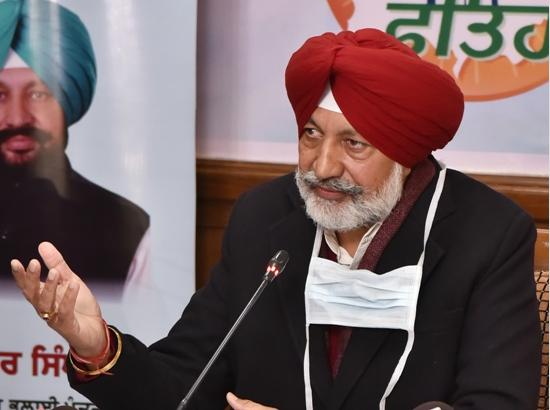 Balbir Sidhu says, Centre must provide free COVID vaccine for all without any discriminati