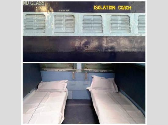 Railways to modify coaches into Isolation Wards
