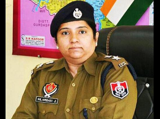 Mrs. Nilambari likely to join as SSP Chandiga