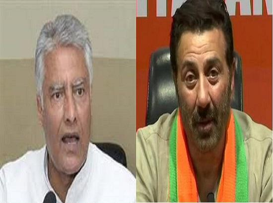 Will you stay back if you lose Gurdaspur, Jakhar asks Deol