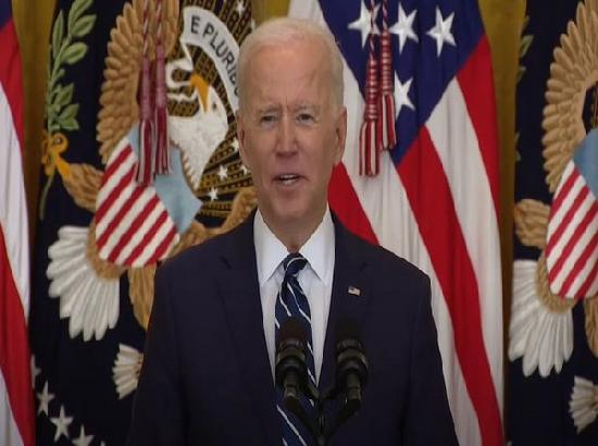 90 % US adults will be eligible for COVID vaccines by April 19, says Joe Biden