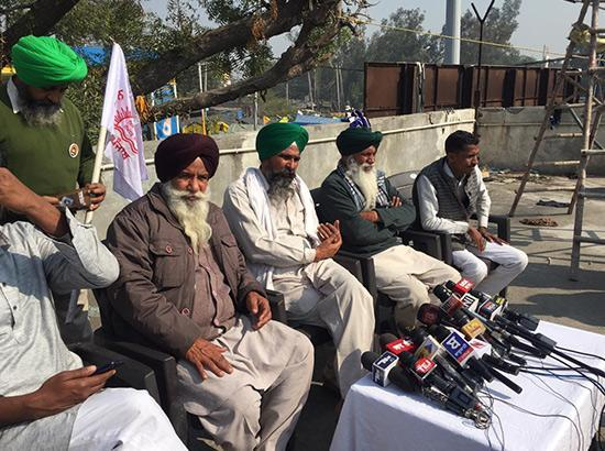 Kisan Mazdoor Sangharsh Committee holds press conference (Watch live)