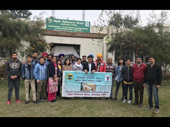 Vocational training programme on Bee Keeping organised