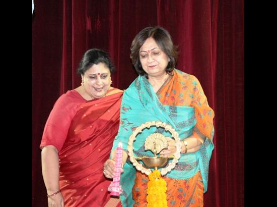 Post Graduate Govt. College for Girls organizes Kala Sangam-A Cultural Evening