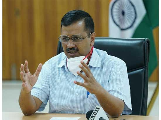Kejriwal launches Delhi Corona App