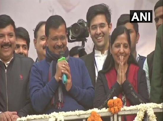 This is victory of people who consider me as their son, says Arvind Kejriwal