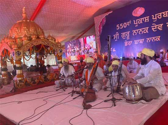 Kirtani Jathas perform Gurbani Kirtan with 'Tanti Saaz'
