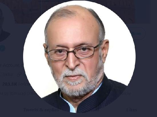 Delhi Lieutenant Governor Anil Baijal tests positive for COVID-19