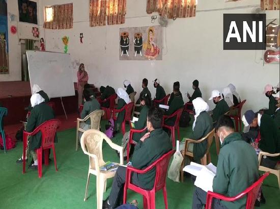 Schools in Ladakh resume classes for standards 6 to 9