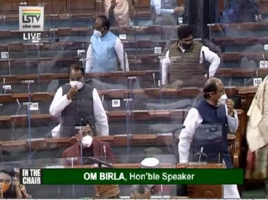 Lok Sabha sees two adjournments during question hour