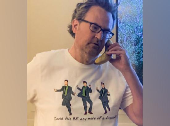Matthew Perry releases 'Chandler Bing' apparel collection for Covid-19 charity