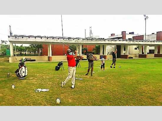 Mohali Golf Range re-opens with Contactless Golf