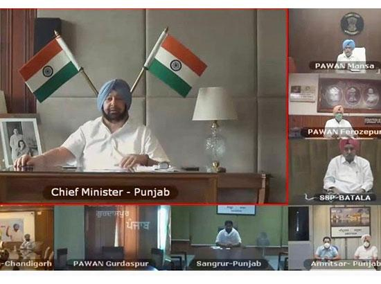 Amarinder asks Congress MLAs & Ministers to aggressively counter vicious AAP COVID propaga