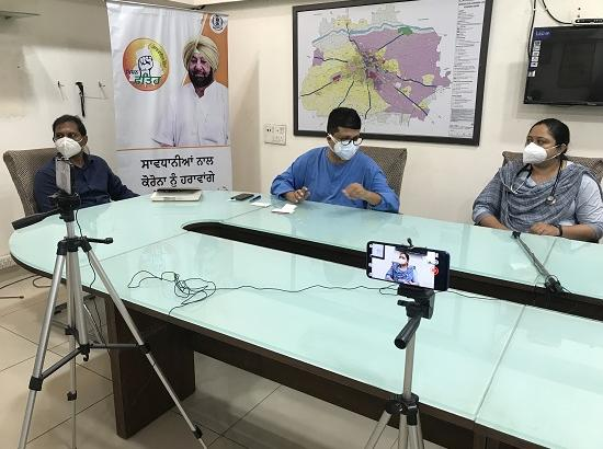 Ludhiana: Loss of Smell & Taste is 100% COVID Positive case: Dr. Rajesh Mahajan
