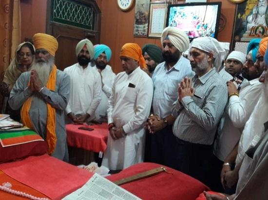 Manish Tiwari visit Dera Hansali for blessings