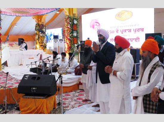 Eliminate social evils like corruption, atrocities, poverty to mark celebrations of 550th