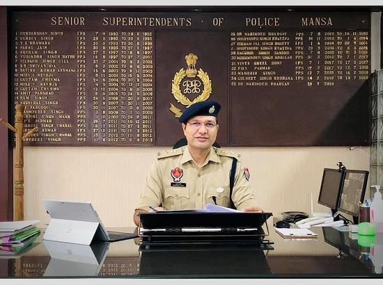 Mansa Police lodge 101 FIRs under NDPS, Excise act in a week