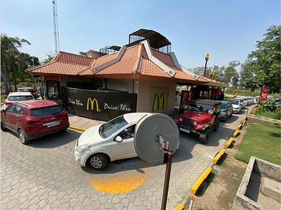 McDonald's Restarts Delivery & Drive-Thru In Punjab