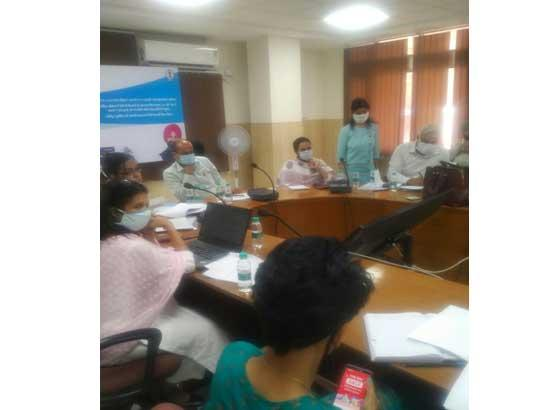 Pre-bid meeting held to insure Ayushman Bharat-Sarbat Sehat Bima Yojna