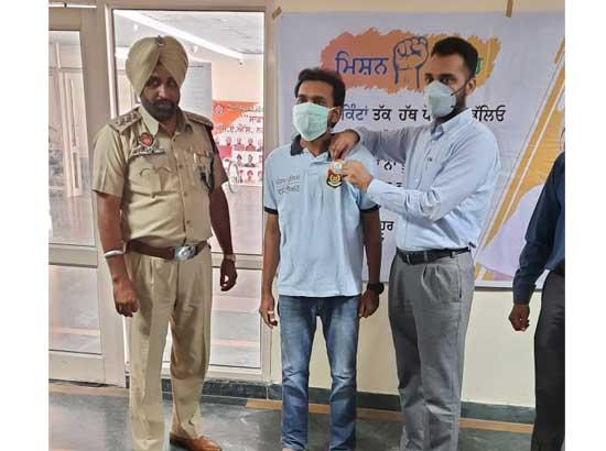 Police exhorting public to be part of Mission Fateh