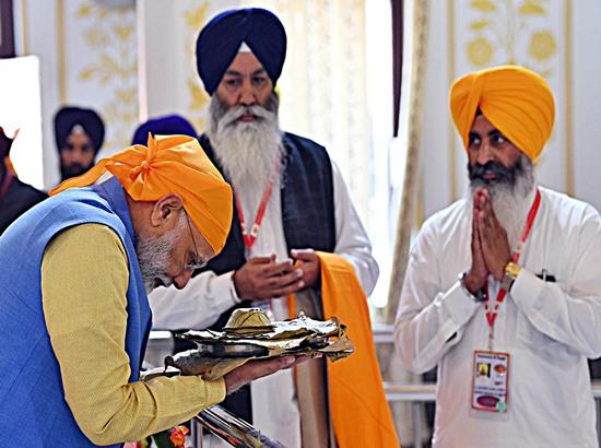 READ: Prime Minister Narendra Modi's speech at Dera Baba Nanak on November 9