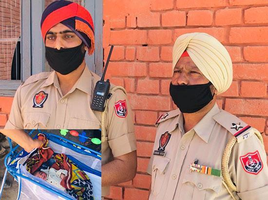 Honoured: Two Moga cops who helped woman deliver baby on roadside