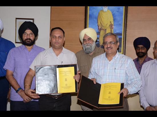 NIPER signed MoU with Guru Nanak Dev University