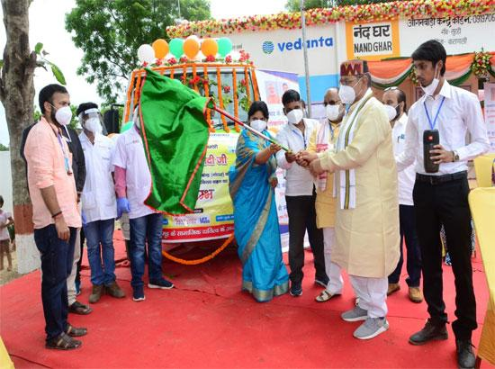 Vedanta's Flagship CSR project Nand Ghar rolls out 1500th Centre in Varanasi