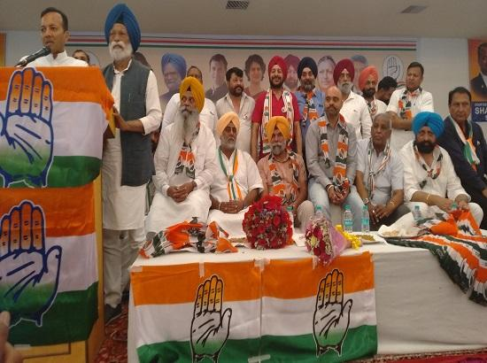 Three Councilors & Former Deputy Advocate General join Congress