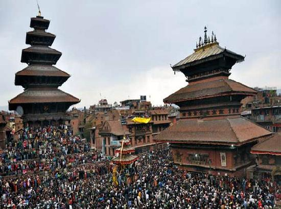 Festival to mark arrival of Nepali New year kicks off in Kathmandu amid COVID-19 surge